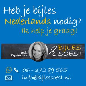 Bijles Soest bijles Nederlands contact blok